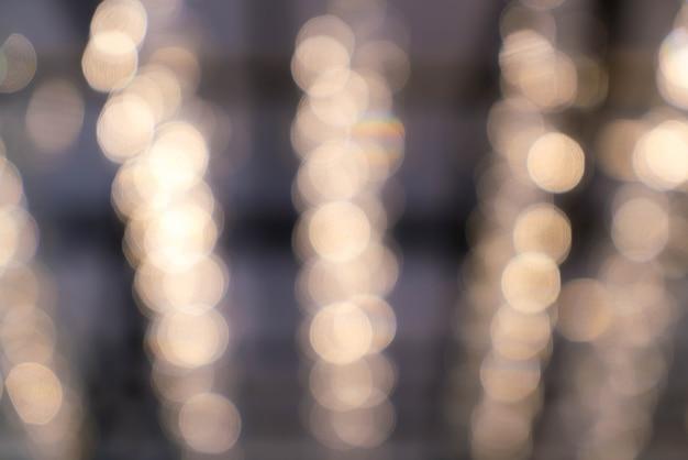 Abstrato borrão bokeh light