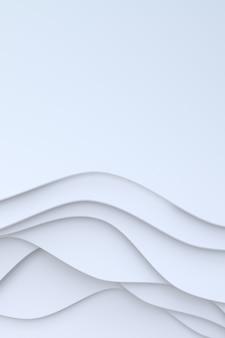 Abstrato branco papel arte base