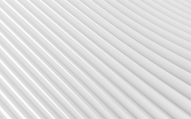Abstrato branco. projeto minimalista abstrato. renderização em 3d