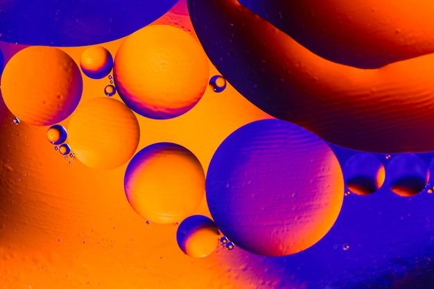 Abstrato científico da membrana celular.
