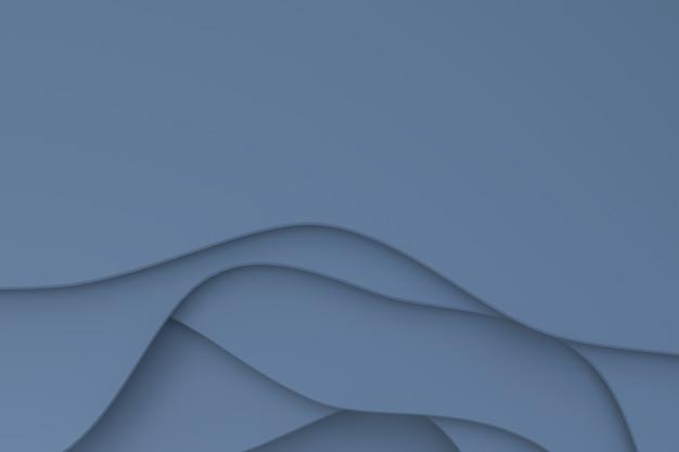 Abstrato cinza papel cortado fundo design para promoção de banner de mídia social