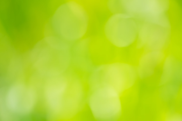 Abstrato circular verde bokeh fundo.