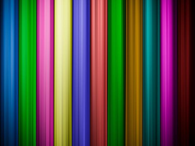 Abstrato colorido com linhas verticais