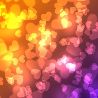 Abstrato colorido. fundo claro mágico da ilustração com projeto do querido.