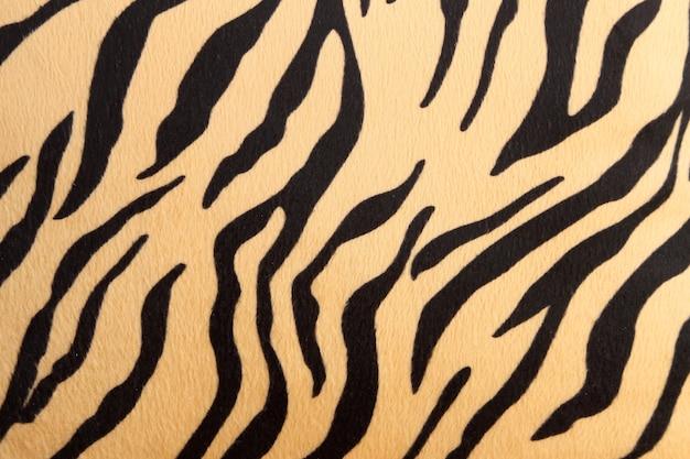 Abstrato com textura de tigre de bengala