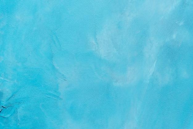 Abstrato de azul pintado na parede de concreto