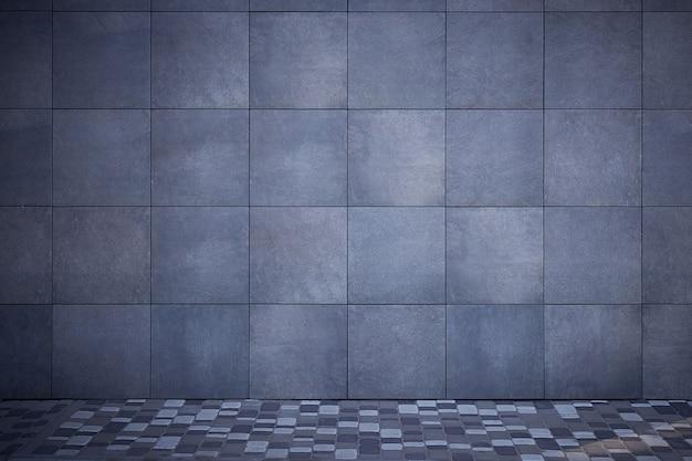 Abstrato de azulejos cinza escuros