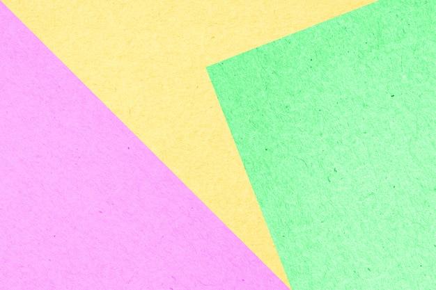 Abstrato de caixa de papel colorido