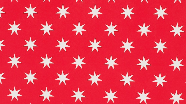 Abstrato de estrelas brancas em background.pattern vermelho para o natal e ano novo.