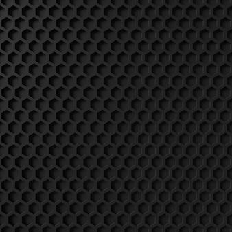 Abstrato de forma de hexágono