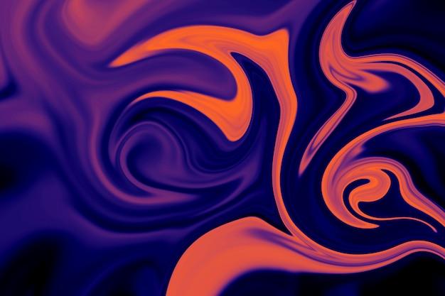 Abstrato de forro líquido colorido. textura abstrata de acrílico líquido.