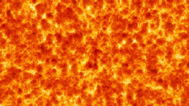 Abstrato de lava fluindo