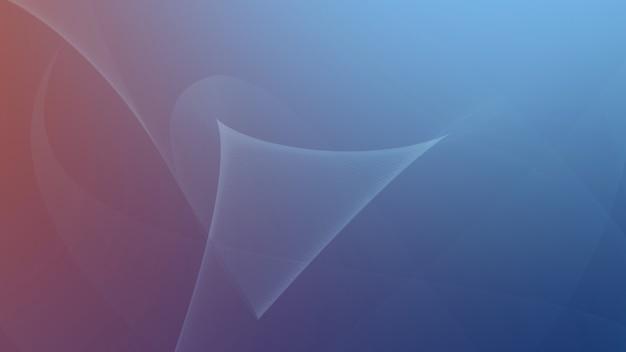 Abstrato de linhas coloridas. estilo dinâmico elegante e luxuoso para negócios, ilustração 3d