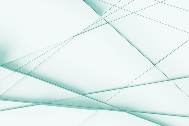 Abstrato de linhas retas, dissecando a superfície em