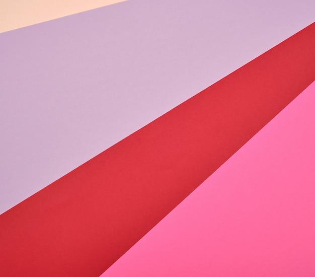 Abstrato de listras multicoloridas e formas
