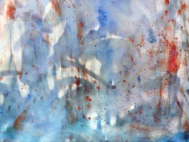 Abstrato de metal com arranhões e manchas. cenário colorido com borrões e traços.