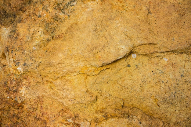 Abstrato de parede de pedra amarela