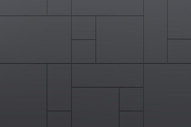 Abstrato de parede moderna. renderização em 3d.