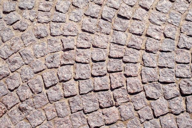 Abstrato de pavimento de paralelepípedos antigo