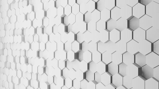 Abstrato de polígono cinza