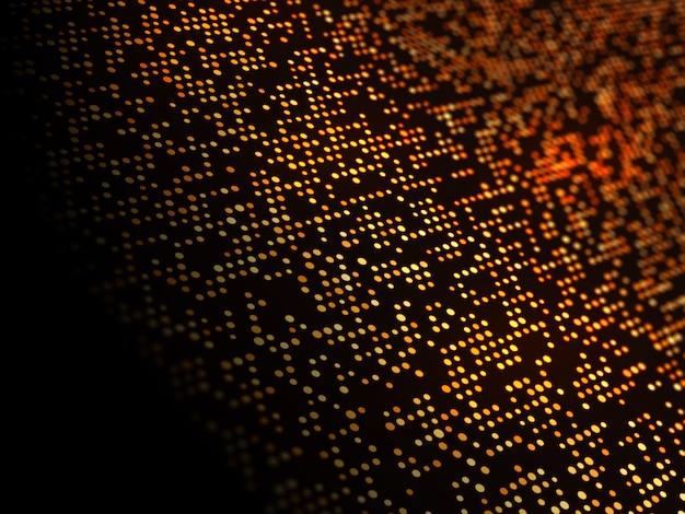 Abstrato de pontos de techno