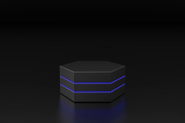 Abstrato de suporte do produto