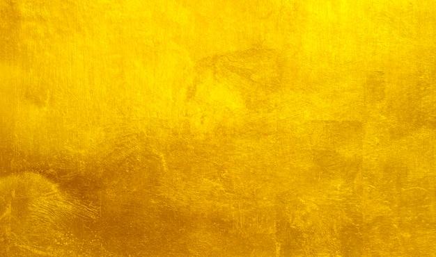 Abstrato de textura de aço de metal polido ouro.