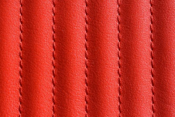Abstrato de textura de couro vermelho