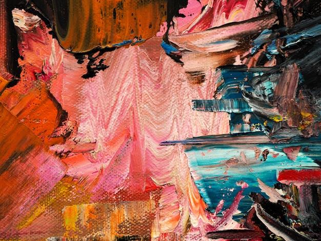 Abstrato de textura de tinta a óleo