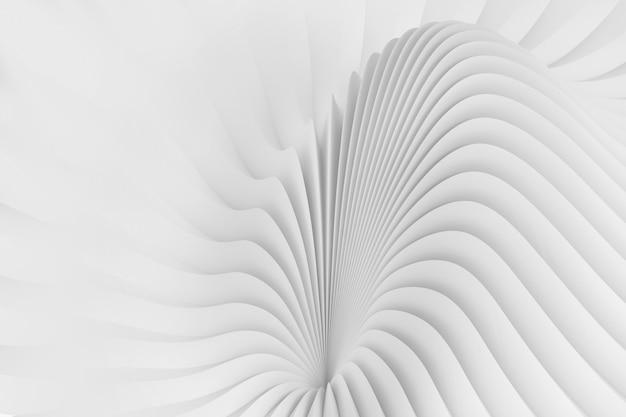 Abstrato de uma serpentina fluindo ondas