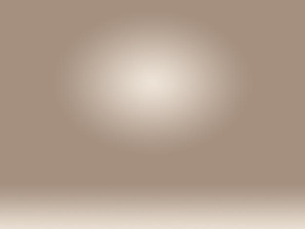 Abstrato design de layout de fundo de parede marrom suave, estúdio, sala, modelo da web, relatório de negócios com cor gradiente de círculo suave.