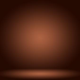 Abstrato design de layout de fundo de parede marrom suave, modelo da web, relatório de negócios com cor gradiente de círculo suave.
