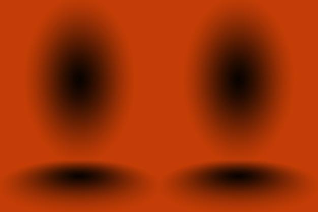 Abstrato design de layout de fundo laranja suave, estúdio, sala, modelo da web, relatório de negócios com cor gradiente de círculo suave.