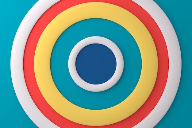 Abstrato do círculo