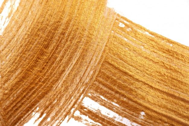 Abstrato dourado manchas escova acrílico em estilo grunge com lugar para texto