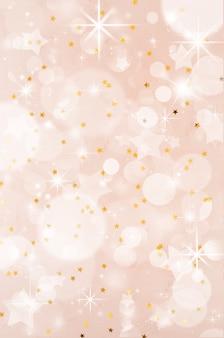 Abstrato festivo de natal com bokeh. fundo de festa festiva com efeito embaçado.