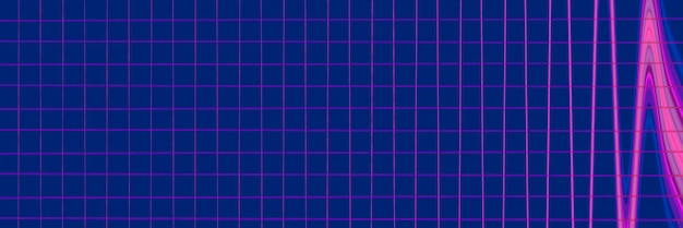 Abstrato geométrico padrão de linhas luminosas. elegante textura futurista simétrica.