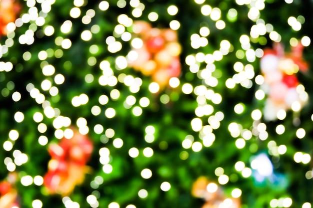 Abstrato luz embaçada para o dia de natal