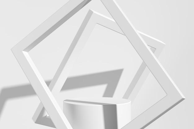 Abstrato, mock-se cena para exposição do produto. renderização em 3d