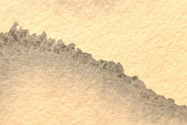 Abstrato papel manchado amarelo claro
