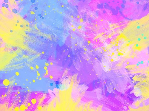 Abstrato pintado fundo