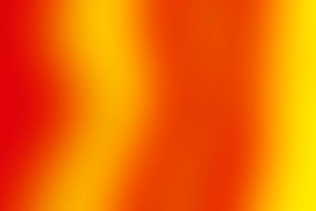 Abstrato pop turva com cores quentes - vermelho, laranja e amarelo