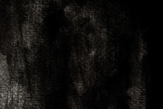 Abstrato preto e branco fundo aquarela. pintura de mão de arte