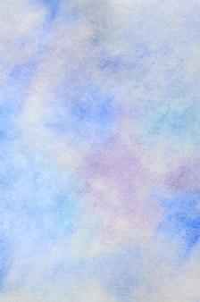 Abstrato, sob a forma de traços de aquarela e gotas