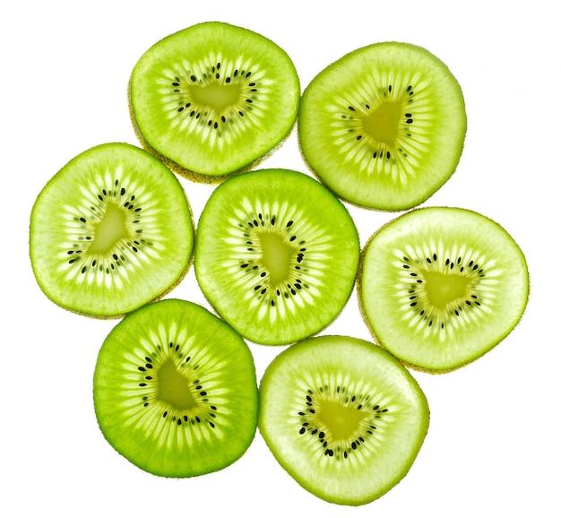 Abstrato verde kiwis