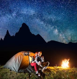 Acampamento noturno
