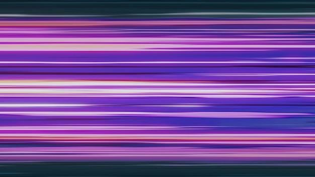 Ação de linha de velocidade colorida em quadrinhos inspirada em anime japonês. renderização 3d.