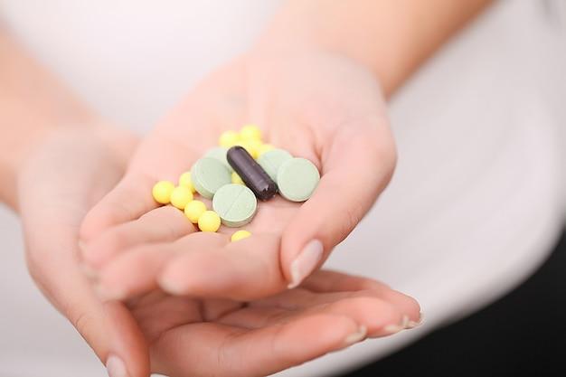 Aceitação de drogas, auto-tratamento em casa