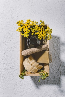 Acessórios de banheiro ecológicos e sem resíduos