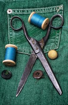 Acessórios de costureira de trabalho